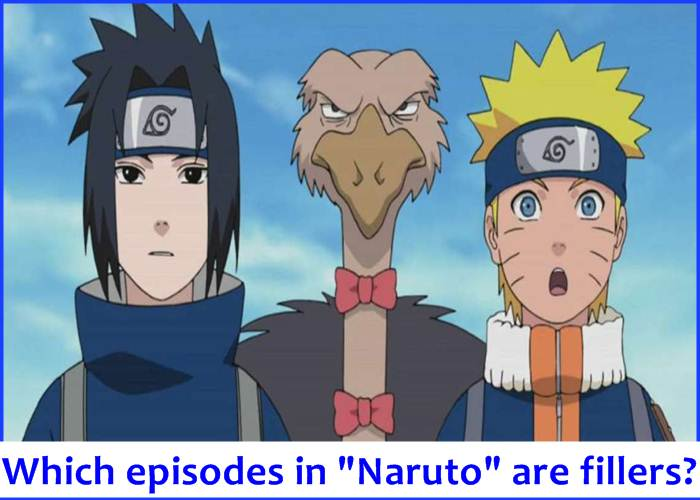 "Which episodes in ""Naruto"" are fillers?"