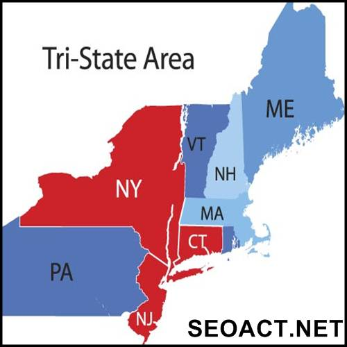 What is a tri-state area?