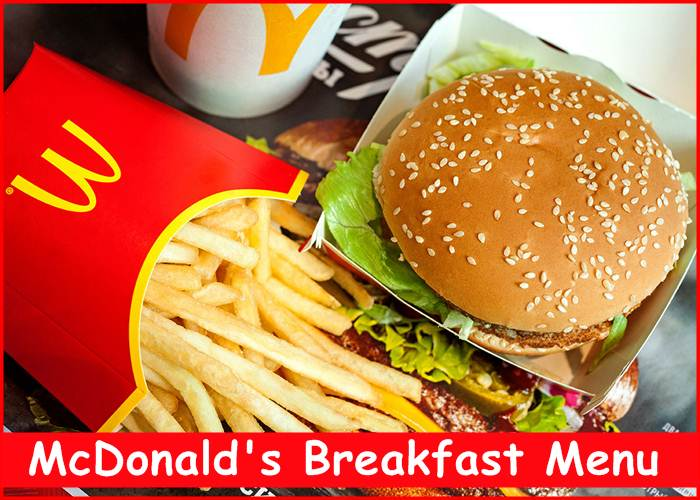 What are the hours for McDonald's breakfast menu?